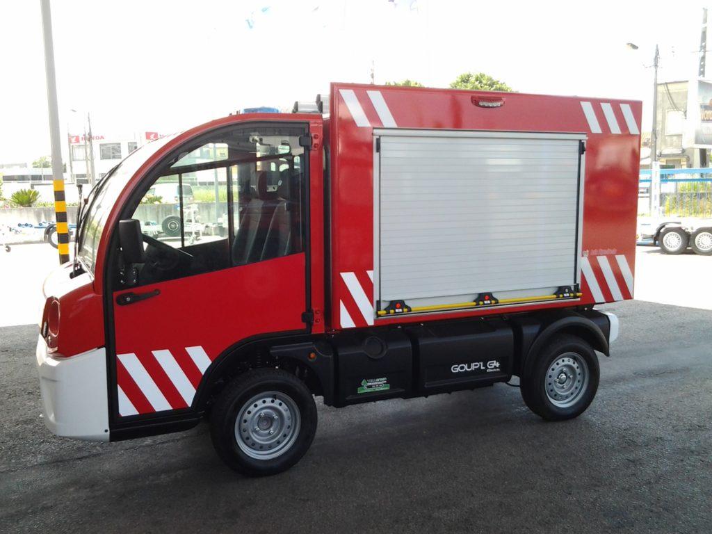 vehiculo electrico contra incendios