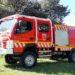 Vehículo contra incendio forestal ligero
